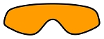 RL Riva: Optic Orange, No Flash, Polarized, Double Lens