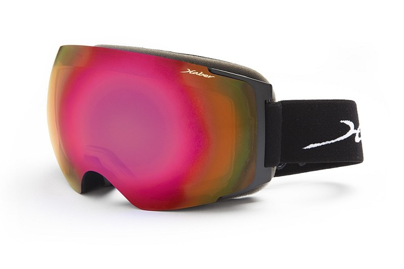 Baccarat Black Grey Base Polarized with Red Mirror