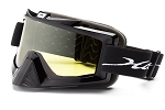 Nitrous Black yellow double lens non-polarized Click for more info