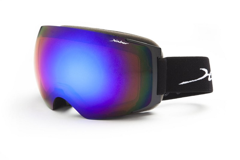Baccarat Black Grey base Polarized with Blue Mirror