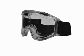 Liquidator Chemical Splash Goggle Double Clear PC lens
