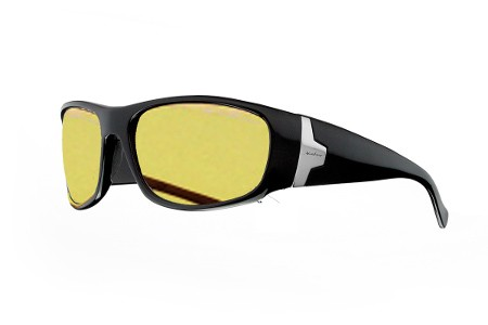 COLUMBIA - Black  Amber Polarized